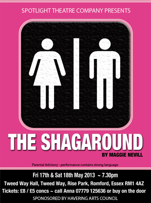 Shagaround toilet sign